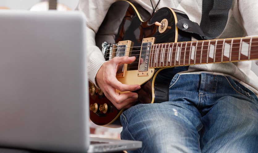 guitar with PC